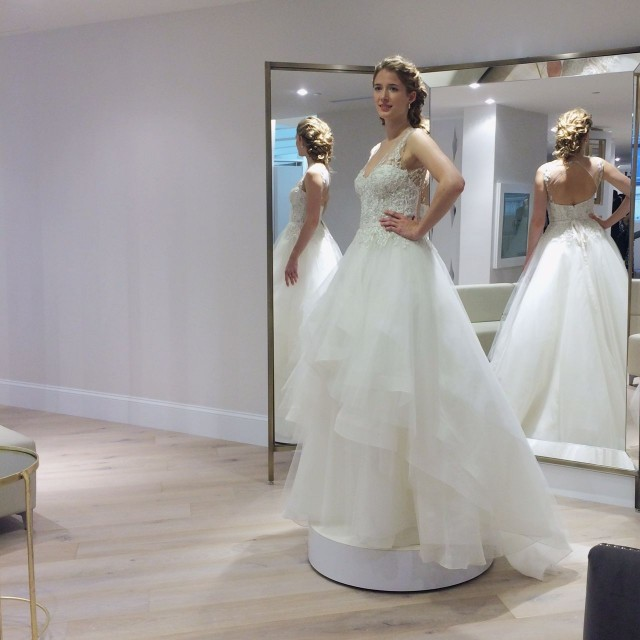 Kleinfeld Canada Launch - Rivini gown