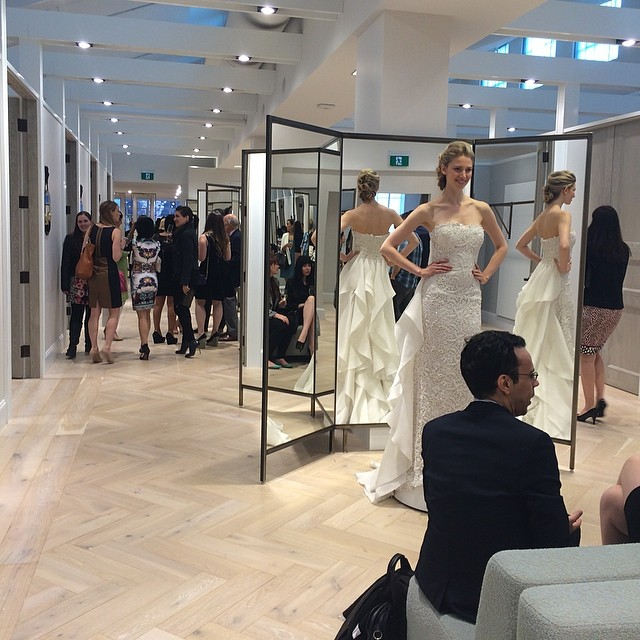 Kleinfeld Canada Launch - Twirling areas