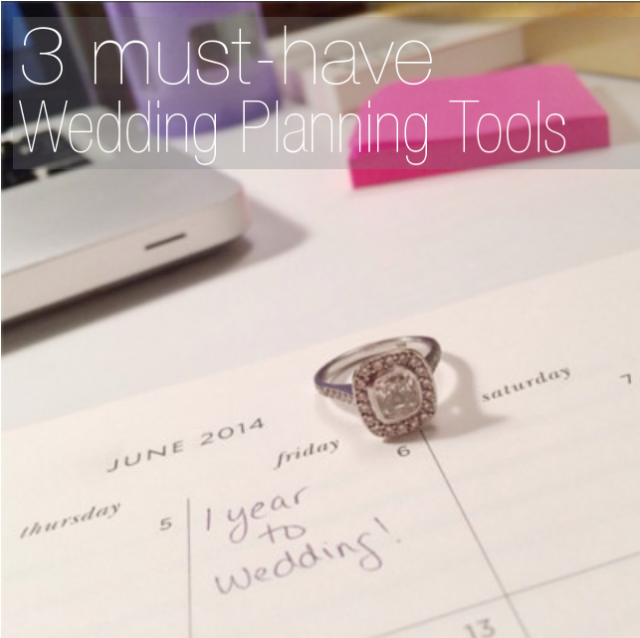 Wedding Organizational Tools