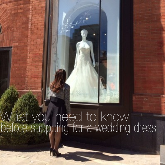 What to know before shopping for a wedding dress