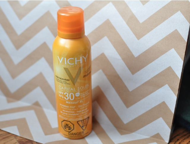 Vichy Capital Soleil Mexoryl XL Invisible Mist sunscreen spf 30