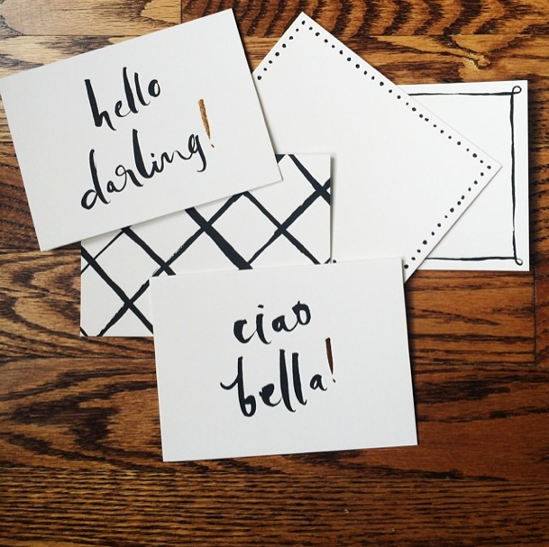 Kate Spade Hello Darling Correspondence Set