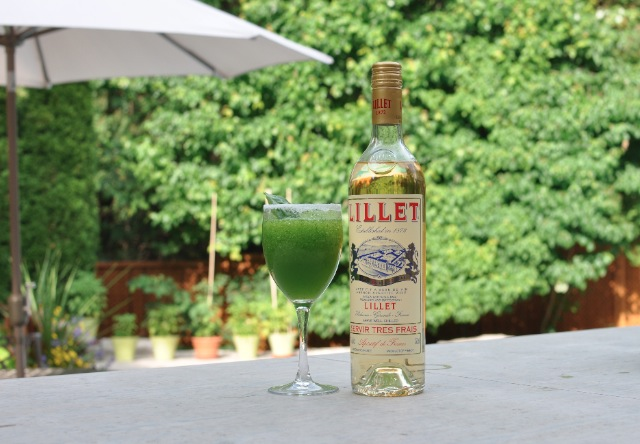 Lillet Blanc Basil Slush Martha Stewart Summer Recipe