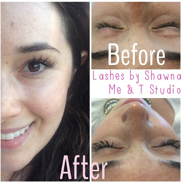 Me & T Studio Toronto eyelash extensions review