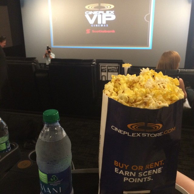 Cineplex VIP shops at don mills open