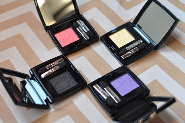 Diorshow Mono Eye shadow limited shades