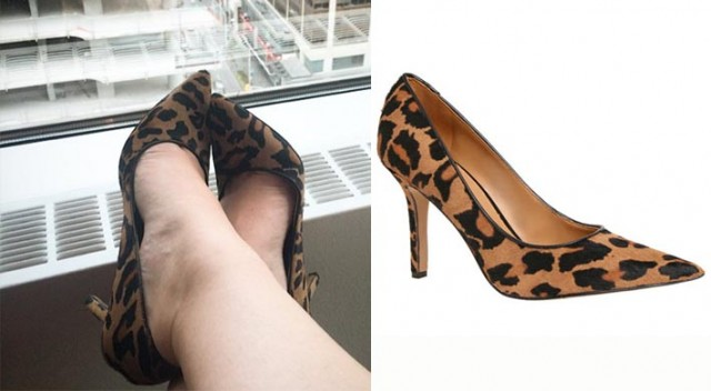 Leopard Print Martina Pumps - Nine West