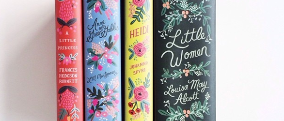 Puffin In Bloom Anna Bond Rifle Paper Co classic novels