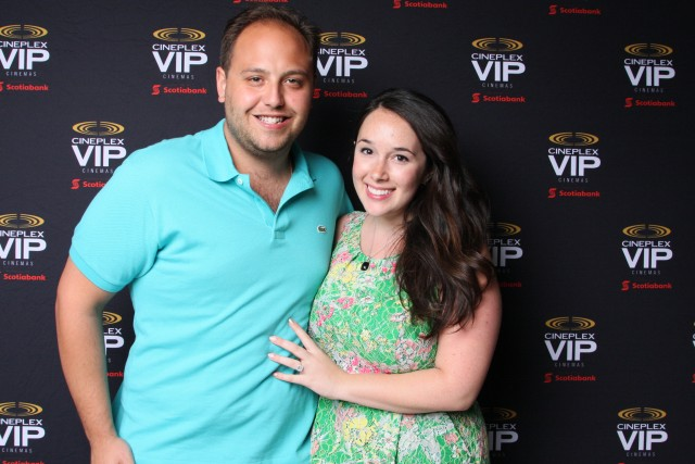 Stephanie Fusco & Michael D'Amico Cineplex VIP