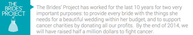 Toronto The Brides Project Wedding Dress Donation