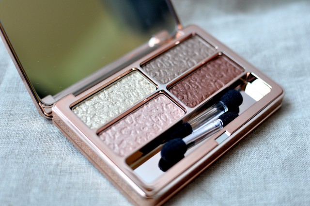 Lise Watier Quatuor Feline Eyeshadow Quartet Fall 2014 review swatch