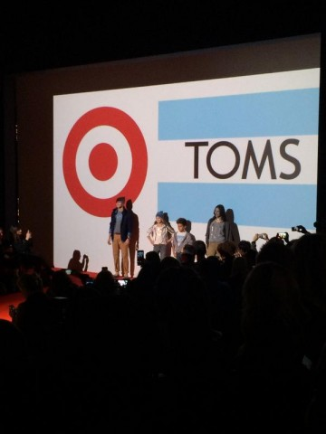 Target Canada for TOMS