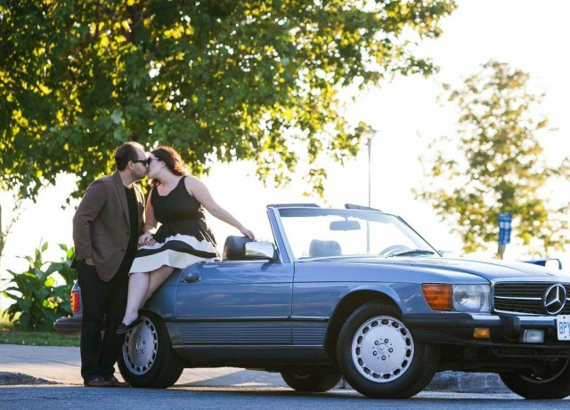 Toronto Vintage Car Engagement Session - 5ive15ifteen photography Stephanie Fusco