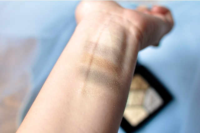 Dior 5 Couleurs 046 Golden Reflections eyeshadow swatch review
