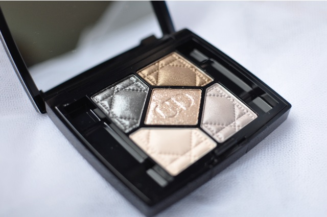 Dior 5 Couleurs 046 Golden Reflections review eyeshadow holiday