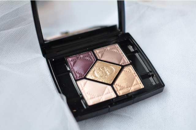Dior 5 Couleurs 756 Golden Shock eye shadow review
