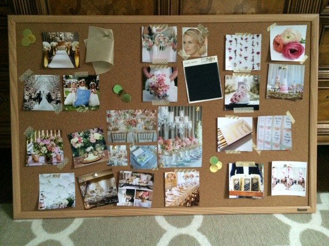Wedding Inspiration Bulletin Board