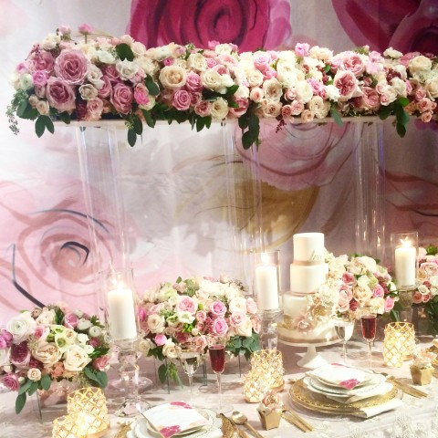 Floral Inspiration The Social Rose WedLuxe