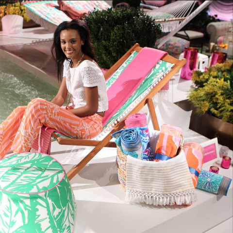 Lilly Pulitzer Target Beach