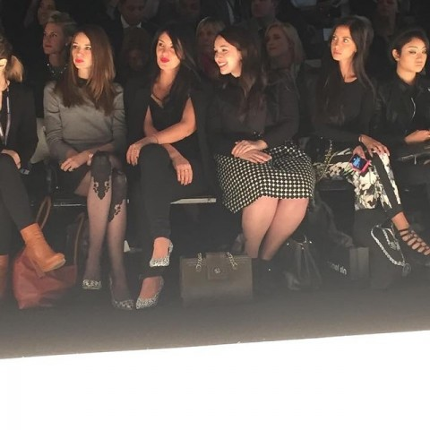 Stephanie Fusco Katie Green Front Row Fashion Week Toronto