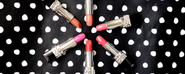 Dior Rouge Dior Swatch Review Lipstick Spring 2015