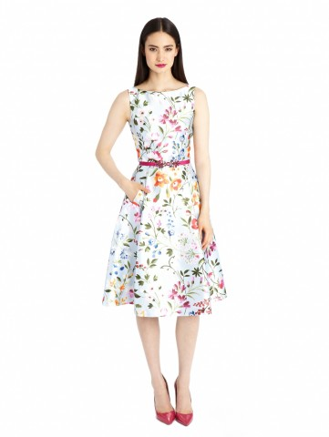 Oscar De La Renta final collection - mikado garden dress