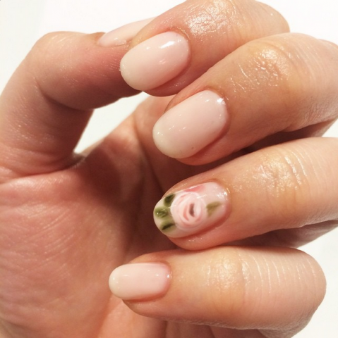 Rifle Paper Co. Manicure inspiration me & t