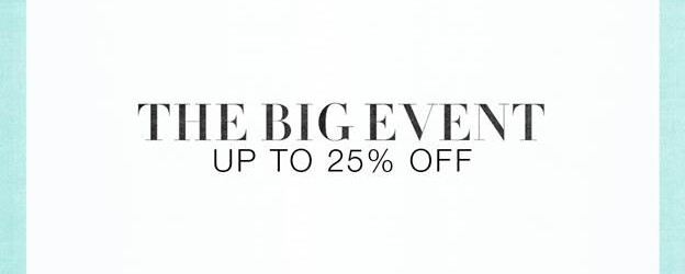Shopbop Coupon Codes The Big Event