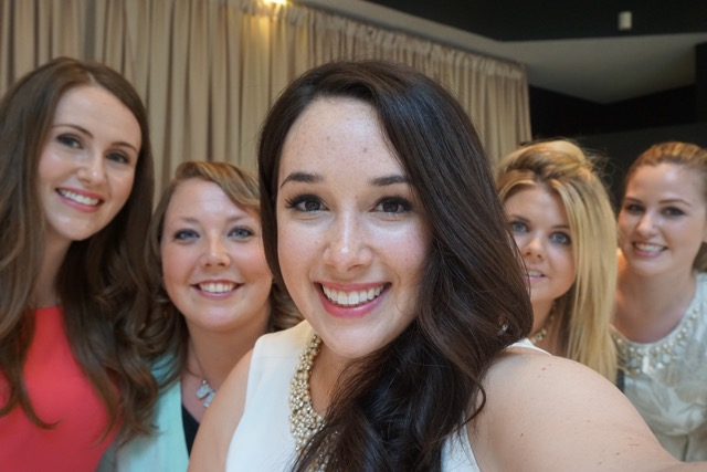 Stephanie Fusco bridesmaids selfie