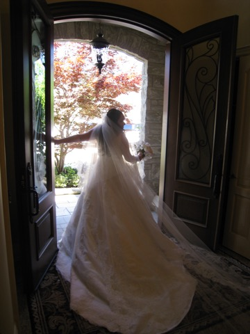 Stephanie Fusco wedding dress Ines Di Santo