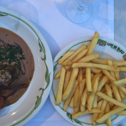 Cafe de Paris Steak Frites Monaco