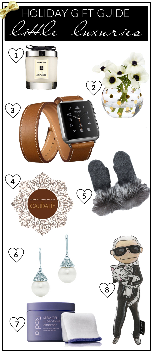 Gift Guide 2015 - Little Luxuries