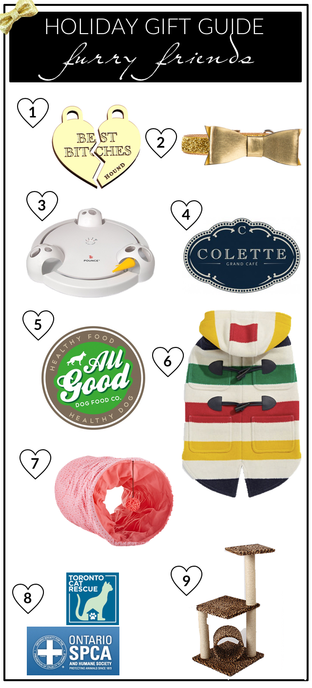 Holiday Pet Gift Guide 2015 - Furry Friends