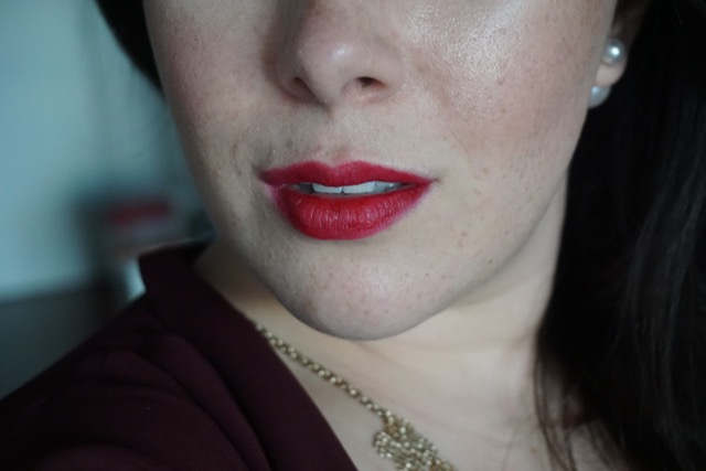 Revlon Ultra HD Matte Lipcolor Passion Review Swatch