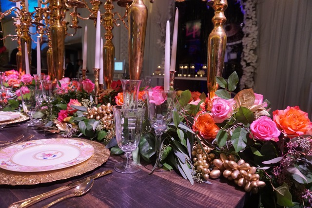 FOS Decor WedLuxe Show Garden Tablescape Wedding