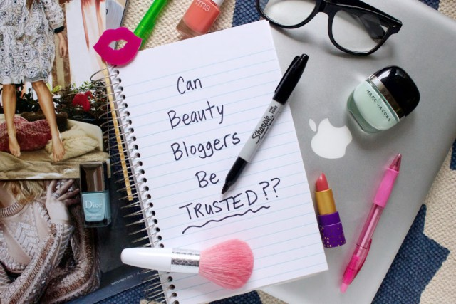 Can We Trust Bloggers _ Beauty Editor