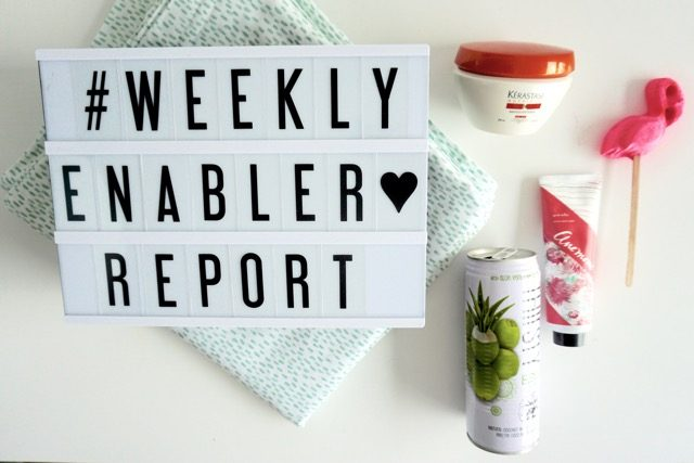 Weekly Enabler Report Lush Thirsty Buddha Kerastate BluebellGray review