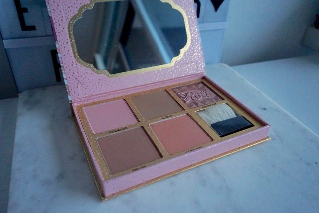 Benefit powders Cheekathon Palette in Canada review