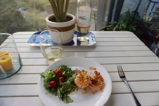Easy summer dinner and wine pairing