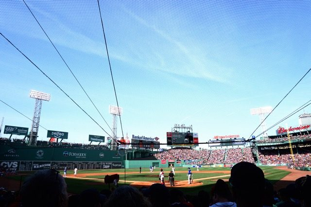 Behind Home Plate Fenway Park