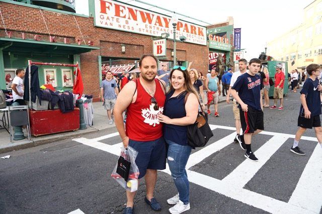 Fenway Park Stephanie Fusco MIchael D'Amico