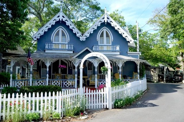 Gingerbread Houses MV Oak Bluffs