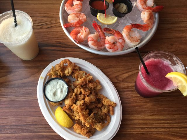 best fried seafood oak bluffs fishbones