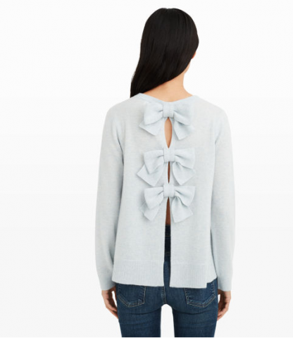 club-monacao-bow-back-sweater-cashmere
