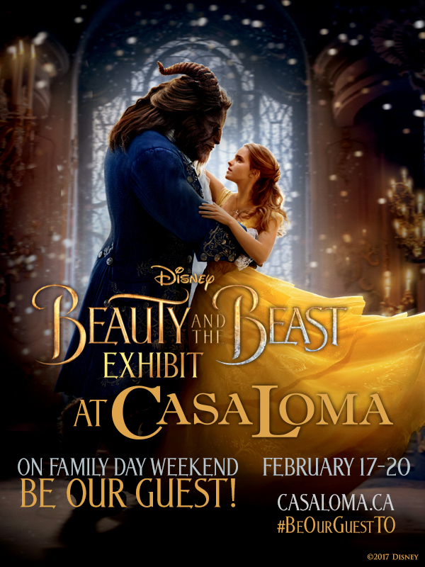 Beauty and the Beast Casa Loma Toronto